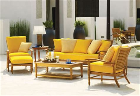 yellow outdoor furniture yellow patio chair cushion chair pads cushions