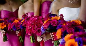summer wedding color schemes weddings color outside the box