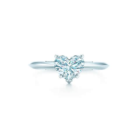 heart shaped l heart shape engagement rings tiffany co