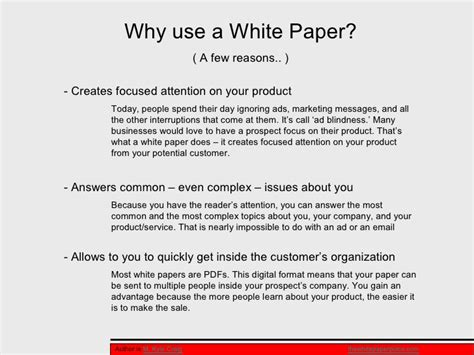 write a white paper top mistakes in writing a white paper