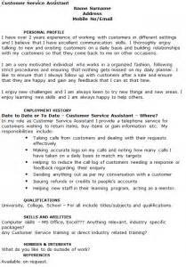 customer service assistant cv exle cover letters and