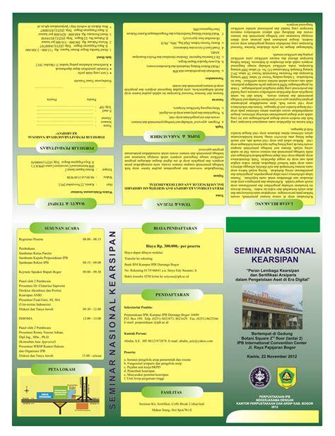 membuat brosur sederhana dengan coreldraw membuat brosur di corel cara membuat leaflet brosur dengan