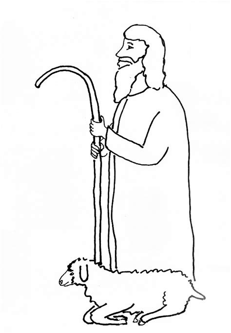coloring pages jesus the good shepherd bible story coloring page for jesus our shepherd free