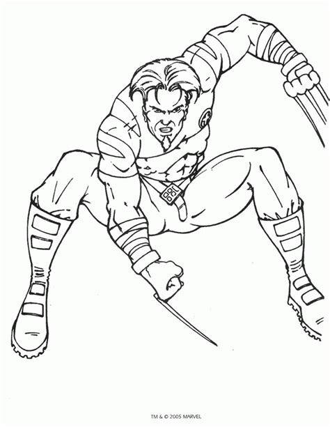 X Men Coloring Pages Coloringpages1001 Com X Colouring Pages