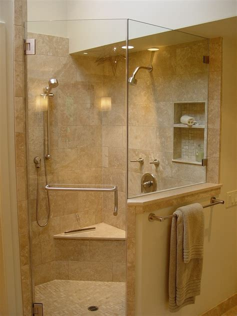 shower area corner shower bathtub bathroom corner shelves shower