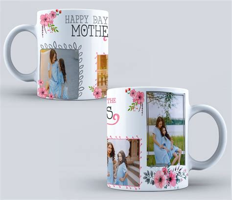 Sublimation Templates Psd Mother Collage Sublimation Template Sublimation Blanks Design Free Mug Templates For Sublimation