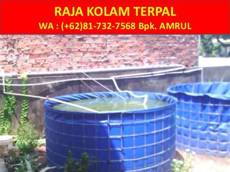 Jual Kolam Terpal Bulat Yogyakarta wa 081 732 7568 jual kolam terpal bulat jogja