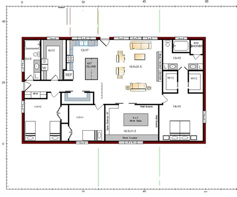 barndominium house plans floor plans for the barndominium barndominium pinterest