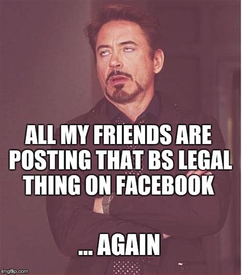 How To Post Memes On Facebook - facebook legal privacy posts make me look like this imgflip