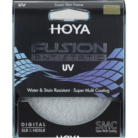 Hoya Fusion Antistatic Uv 77mm Black Filter Lensa hoya filter uv fusion antistatic 77mm filtrid photopoint