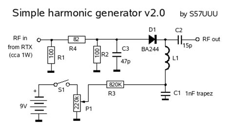 a survey on step recovery diode and its applications simple quot small signal quot harmonic generator with wide range output power setting