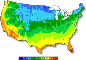map of growing zones in us usda plant hardiness zone map