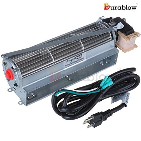 Gas Fireplace Blower Motor by Durablow Fk12 Replacement Fireplace Blower Fan Kit For