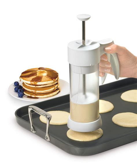 cool kitchen tools batter dispenser perfect proportions batter dispenser