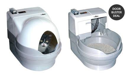 lettiere autopulenti catgenie self washing cat box and geniedome groupon
