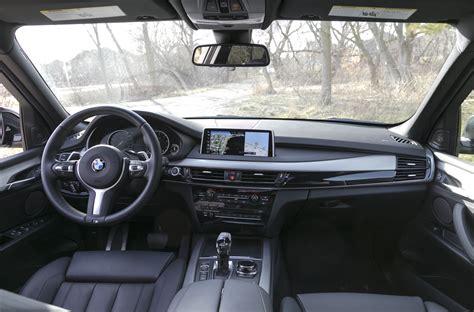 bmw x5 inside 2017 bmw x5 xdrive35i review luxury mid size crisis