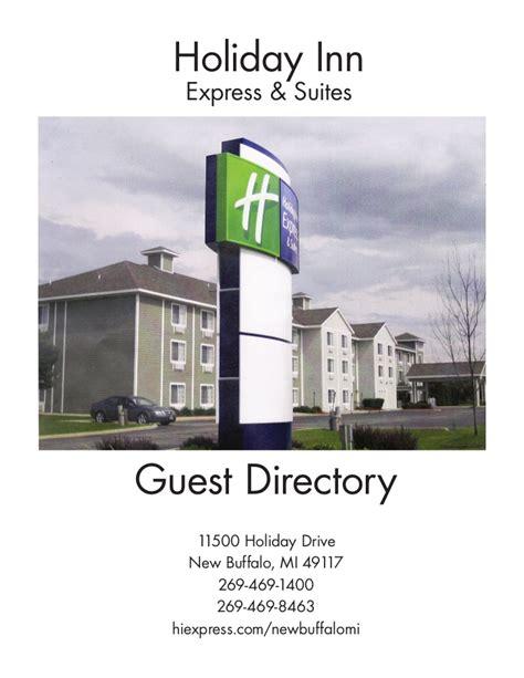 New Buffalo Mi Inn Express Guest Services Directories