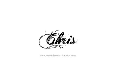 chris name designs