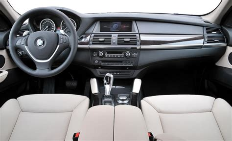Bmw X6 Interior Pictures by Car And Driver