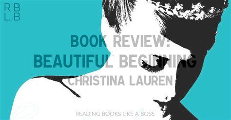 Beautiful Beginning book review beautiful beginning by reading books like a