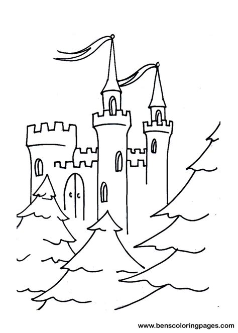 fairy tale castle coloring page fairy tale castle pages coloring pages