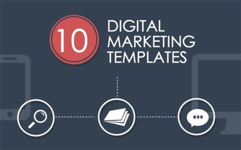 digital templating 10 digital marketing templates for lightning fast