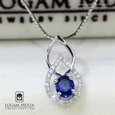 Anting Blue Saphire Cincin Gelang Kalung Anting Import Korea Xuping jual liontin berlian wanita blue sapphire pjl sp5285 esd logammuliajewelry