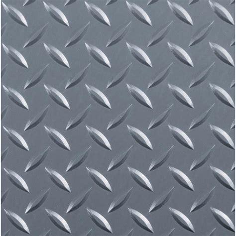 G Floor Diamond Tread 8.5 ft. x 22 ft. Slate Grey