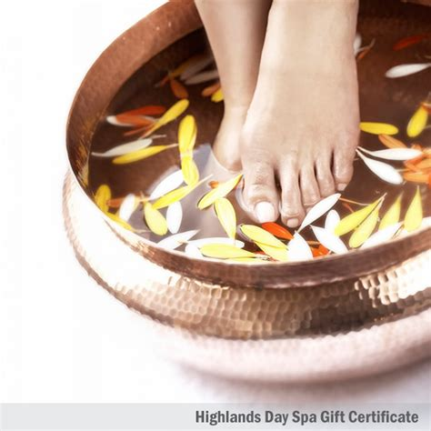 Detox Spa Day by Foot Bath And Foot Highlands Day Spa
