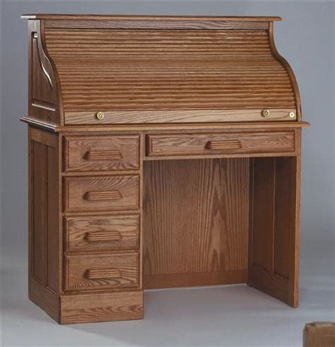 Oak Desks With Hutch Handcrafted Solid Oak Single Pedestal Desk With Hutch Computerdesk