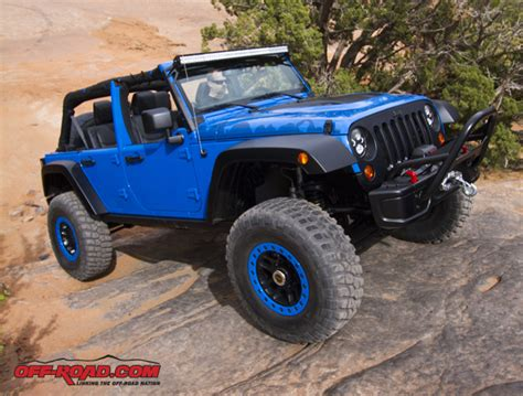 Jeep Wrangler Performance Parts Jeep Wrangler Maximum Performance Concept Vehicle