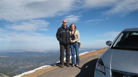 drive up pikes peak steven and ruth moll first drive up pikes peak
