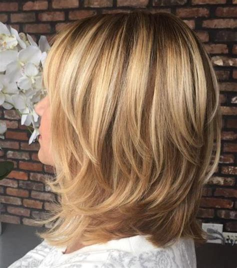 Shoulder Length Hairstyles With Layers by 70 Brightest Medium Length Layered Haircuts And Hairstyles