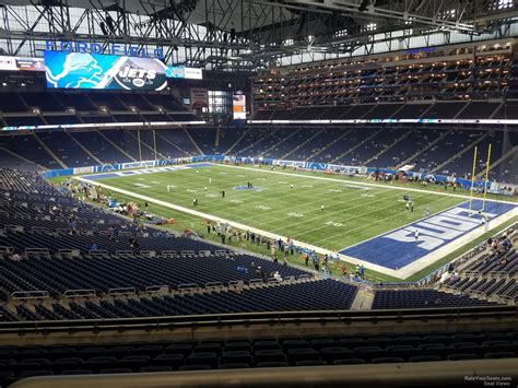 section 237 a 1 b ford field section 237 detroit lions rateyourseats com