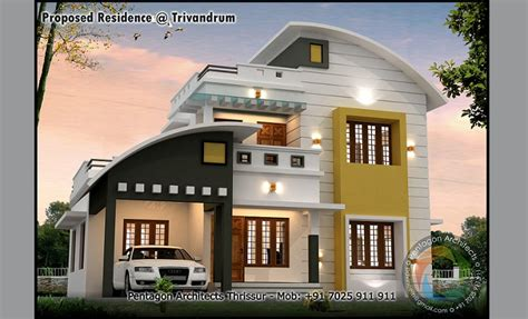 kerala home design facebook 1681 sq ft contemporary 4 bhk home design home interiors