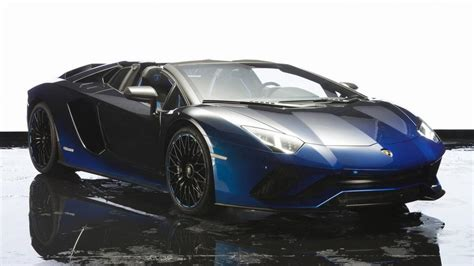 lamborghini aventador in half this lamborghini aventador s roadster special edition is