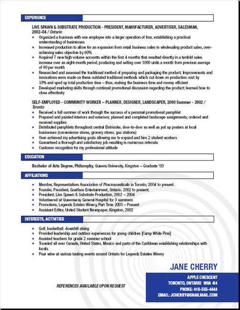 Recruiting Resume Exles by Health Care Recruiters Candidates Resumes Sles Ontario