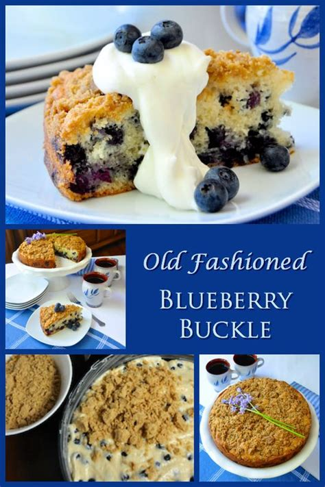 old fashioned comfort food recipes warm blueberry buckle recipe and the o jays on pinterest