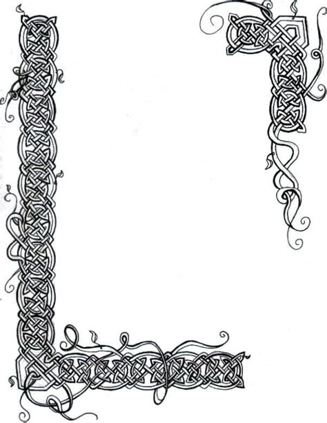 design frame clipart illuminated manuscript borders vines celtic knot vines
