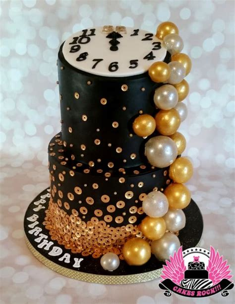 Bubbly New Years Eve  Ee  Birthday Ee   Cake Cake By Cakes Rock