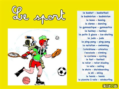 french sports le blog de madame birtwistle le sport