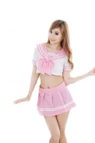 Black Pink Student Costume top black friday tm pink white student