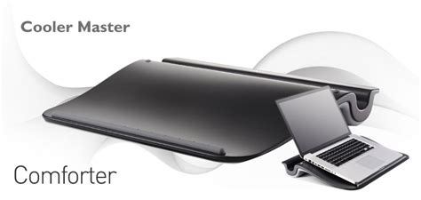 Cooler Master C Hs02 Ka Laptop Lap Desk With Pillow Cooler Master Comforter Laptop Desk