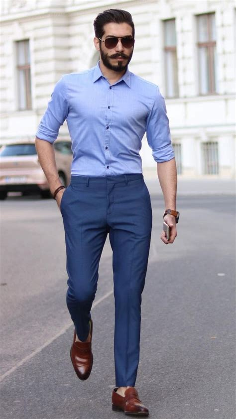 5 Best Shirt And Pant Combinations For Men in 2019   Man