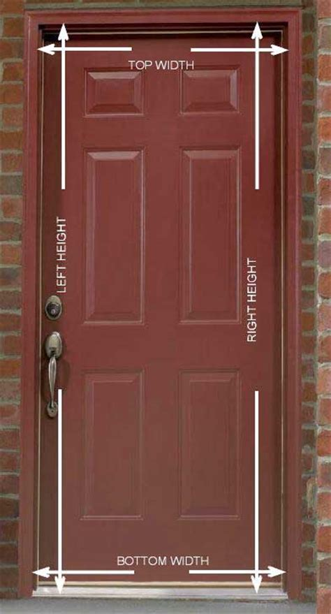 Brick Mold Door by How To Measure Doors With Brick Mould Retractable