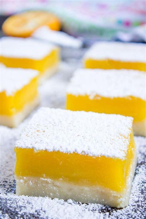 25 best ideas about easy lemon bars on pinterest lemon