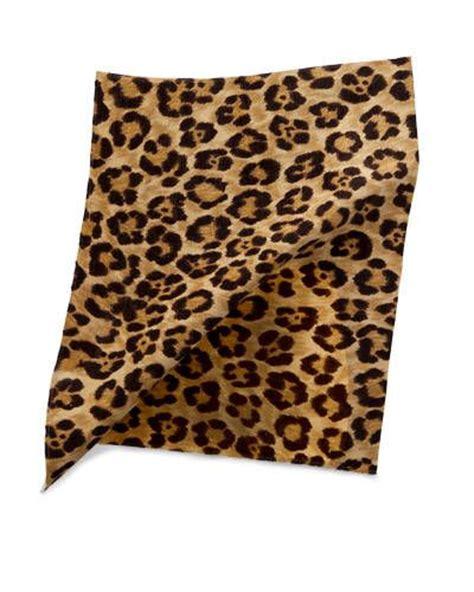 Trend Alert Seeing Leopard Spots by Trend Alert Safari Caledonia Leopard Cotton Linen By