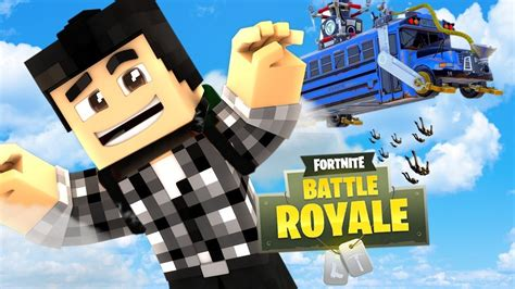 fortnite jumper fortnite battle royale dans minecraft