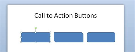 how to make call to action buttons in powerpoint with nice