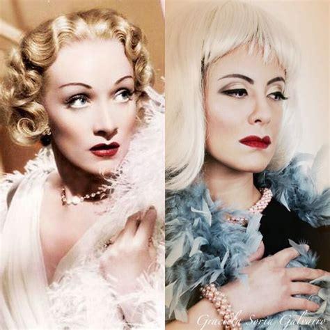 Make Up Marlene maquillaje de hoy fue marlene dietrich die heute make
